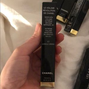 Chanel mascara 17 jungle green- new
